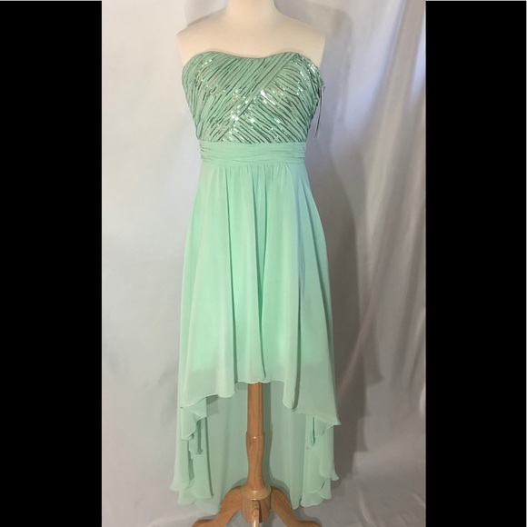Pretty Maids Dresses | Mint Strapless